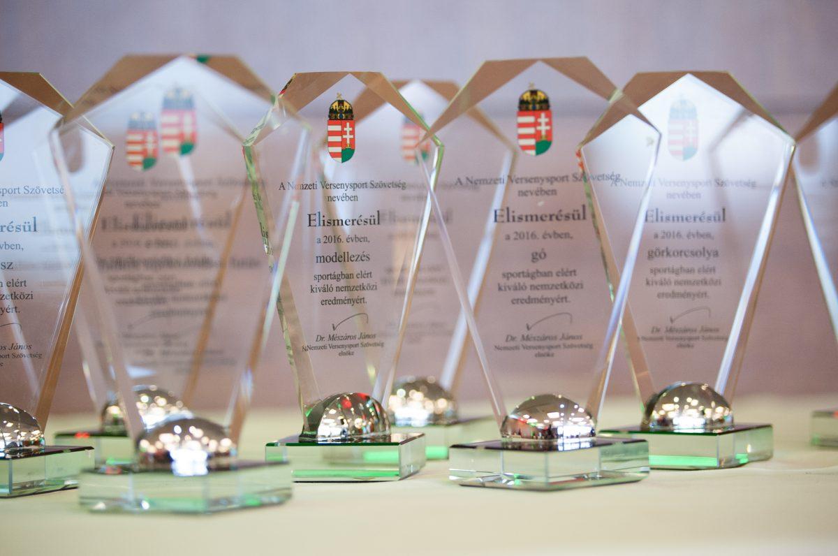 NVESZ díjátadó