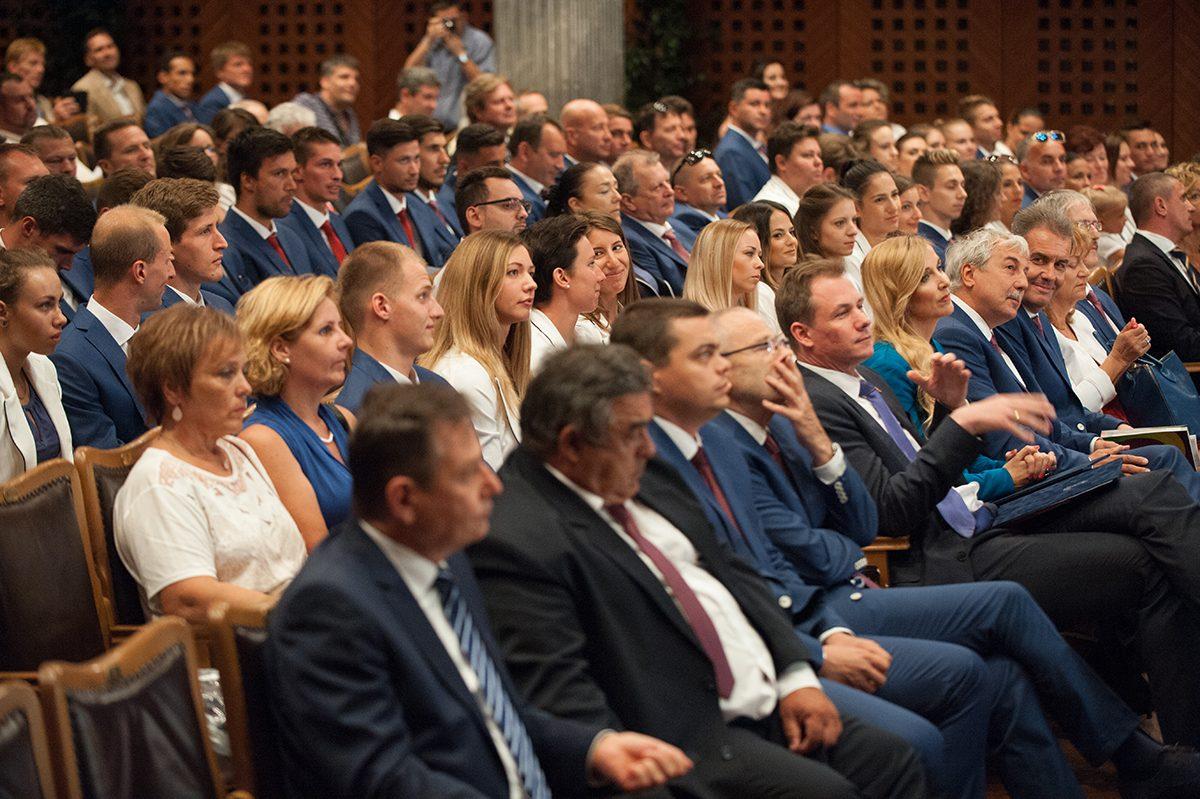 A magyar delegáció