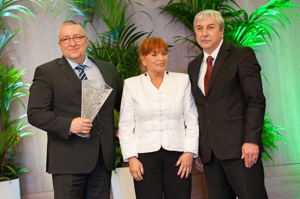 NVESZ díjátadó ünnepség 2017