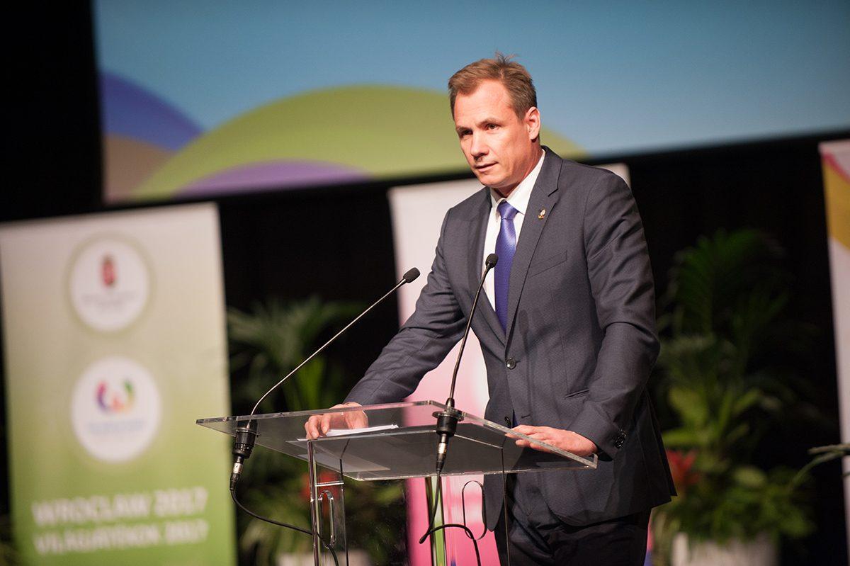 Kulcsár Krisztián, a Magyar Olimpiai Bizottság elnöke
